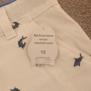 Bottoms - Boys size 12 White Shorts